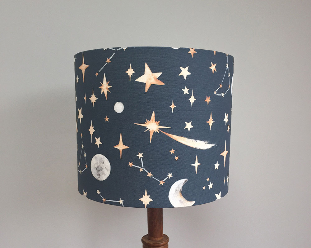 Stars Midnight Lampshade
