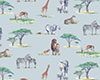 Safari Fabric - Grey