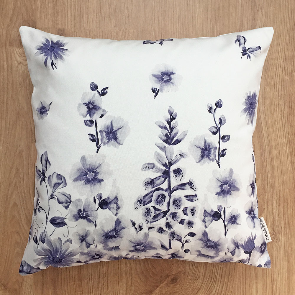 Garden Ink Cushion
