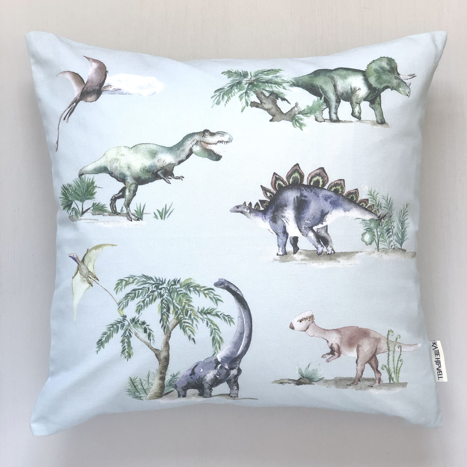 Dinosaurs Sky Cushion