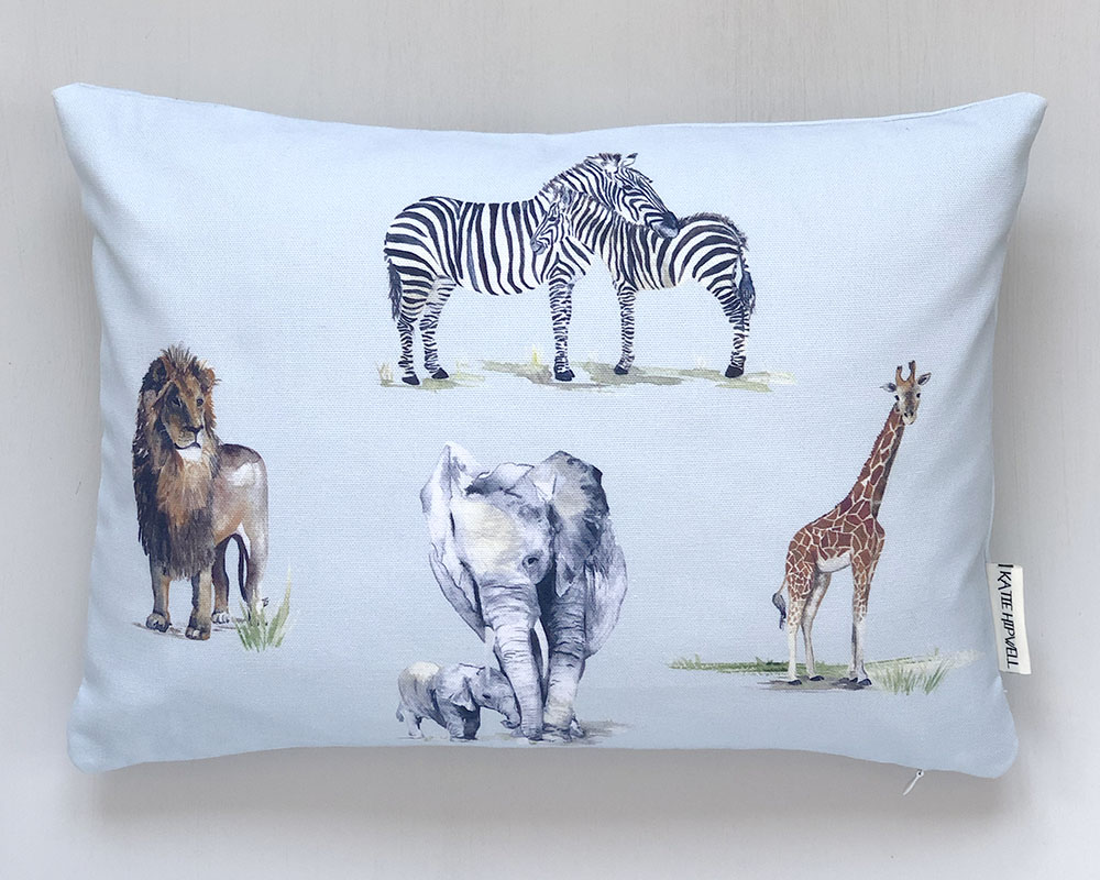 Safari Sky Small Cushion