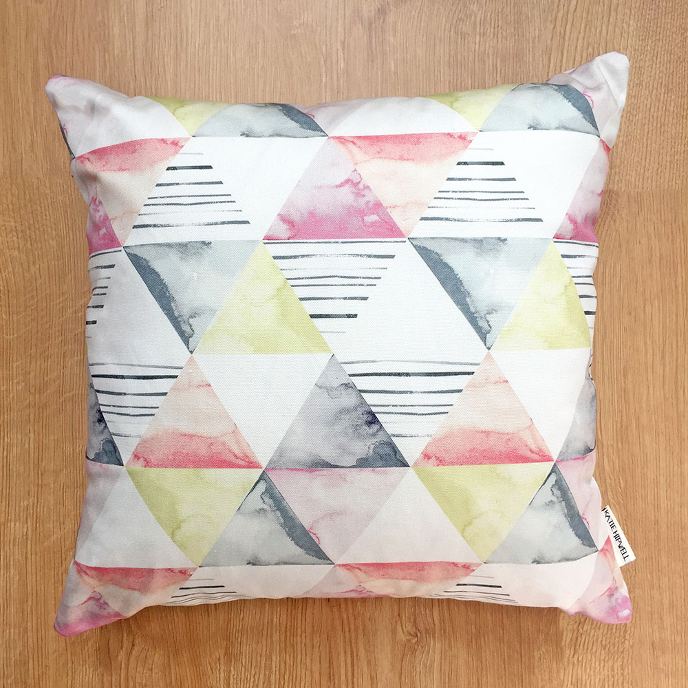 Shapes Slate Cushion