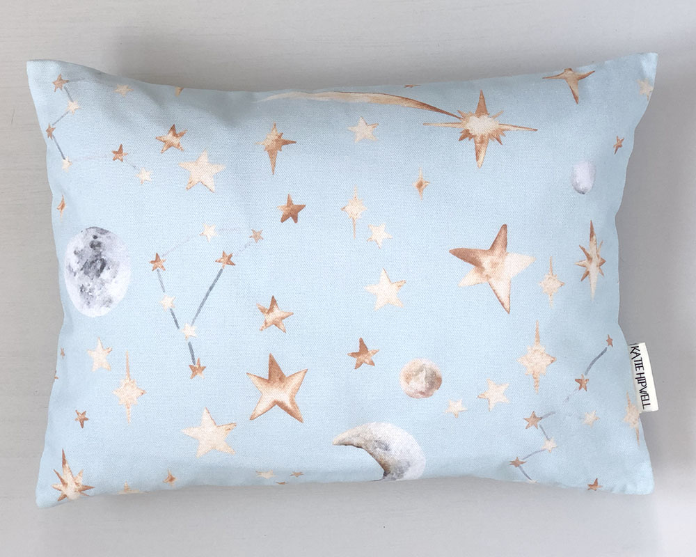 Stars Sky Small Cushion